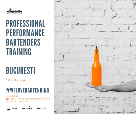 Professional Performance Bartenders Training
